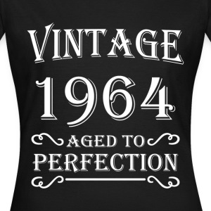 Vintage 1964 - Aged to perfection Camisetas - Camiseta mujer