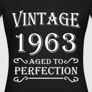 Vintage 1963 - Aged to perfection T-shirts - T-shirt dam