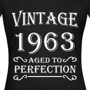 Vintage 1963 - Aged to perfection Camisetas - Camiseta mujer