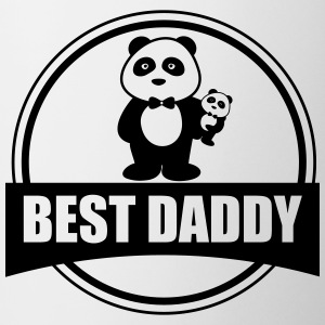 Best Daddy - Panda - Papà Tazze & Accessori - Tazza
