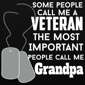 veteran grandpa Bags & Backpacks - Tote Bag