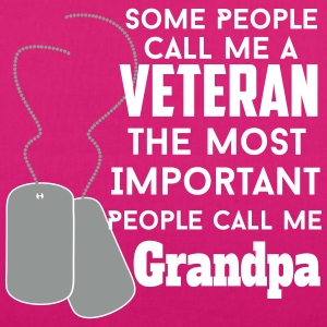 veteran grandpa Bags & Backpacks - EarthPositive Tote Bag