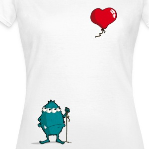 MONSTER_BALLON_WEG - Frauen T-Shirt