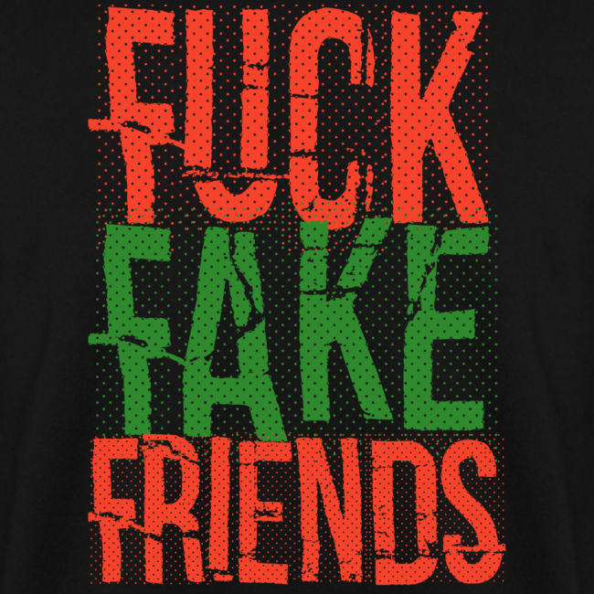 FUC* FAKE FRIENDS SWEATER