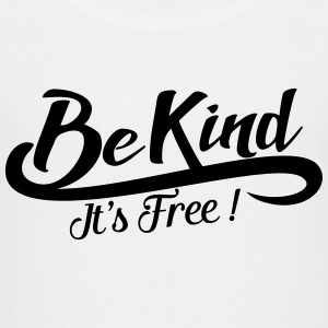 be kind it's free Skjorter - Premium T-skjorte for tenåringer