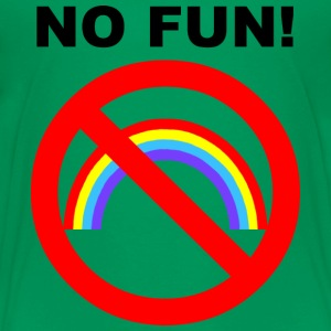NO FUN - Teenager Premium T-Shirt