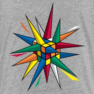 Rubik's Spiky Cube - Teenager Premium T-shirt