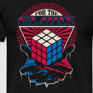 Rubik's For The Glory - T-shirt Premium Homme