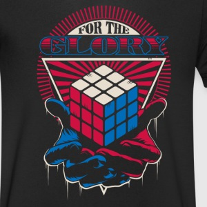 Rubik's For The Glory - T-shirt Homme col V