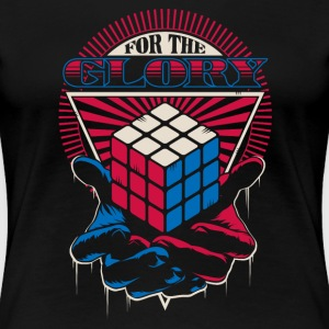 Rubik's For The Glory - Women's Premium T-Shirt