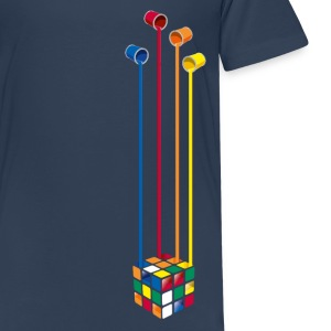 Rubik's Paint Buckets - Teenager premium T-shirt
