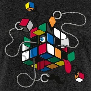 Rubik's Cube Illustration - Frauen Premium T-Shirt
