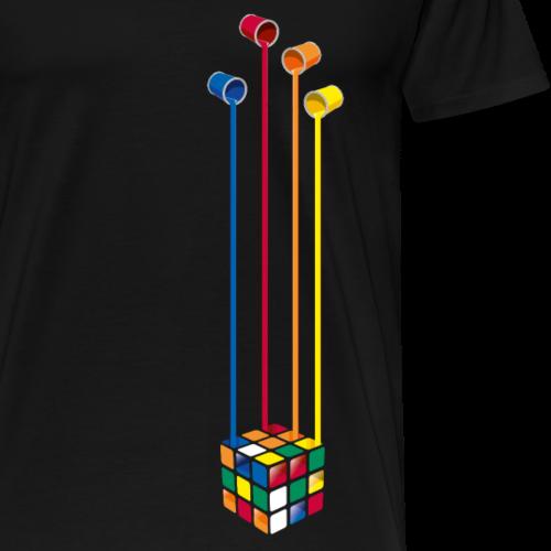 Rubiks - Paintbuckets Cube