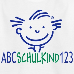 ABC Schulkind 123 - Kinder T-Shirt