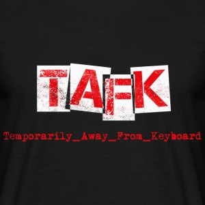 TAFK WhiteRed T-Shirts - Männer T-Shirt