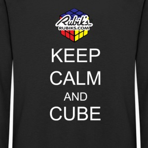 Rubik's Keep Calm - Kids' Premium Longsleeve Shirt