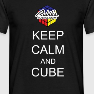 Rubik's Keep Calm - T-skjorte for menn