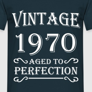 Vintage 1970 - Aged to perfection T-shirts - Herre-T-shirt