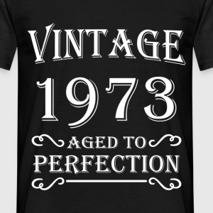 Vintage 1973 - Aged to perfection Tee shirts - T-shirt Homme
