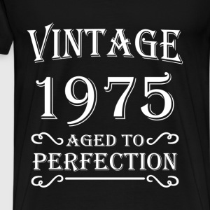 Vintage 1975 - Aged to perfection T-Shirts - Männer Premium T-Shirt