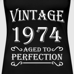 Vintage 1974 - Aged to perfection T-Shirts - Women's Premium T-Shirt