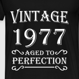 Vintage 1977 - Aged to perfection T-Shirts - Men's Premium T-Shirt