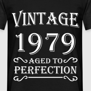 Vintage 1979 - Aged to perfection T-skjorter - T-skjorte for menn