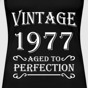 Vintage 1977 - Aged to perfection T-Shirts - Women's Premium T-Shirt