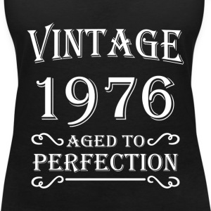 Vintage 1976 - Aged to perfection T-shirts - Vrouwen T-shirt met V-hals