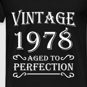 Vintage 1978 - Aged to perfection Tee shirts - T-shirt Premium Homme