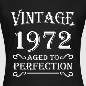 Vintage 1972 - Aged to perfection T-shirts - T-shirt dam