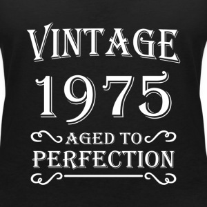 Vintage 1975 - Aged to perfection T-Shirts - Women's V-Neck T-Shirt