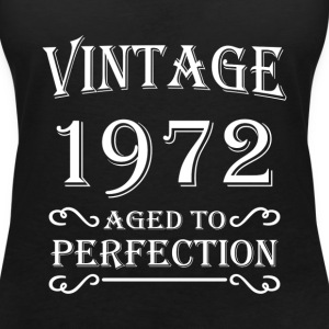 Vintage 1972 - Aged to perfection Tee shirts - T-shirt col V Femme