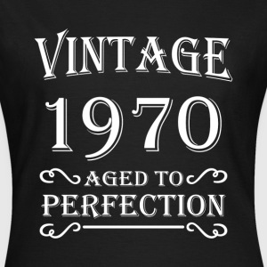 Vintage 1970 - Aged to perfection T-shirts - Dame-T-shirt