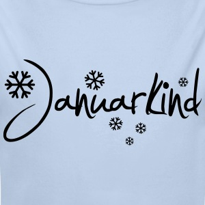 Januarkind - Baby Bio-Langarm-Body