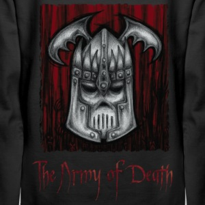 The Army of Death, Iron Skull Helmet of the Queen. - Women's Premium Hoodie