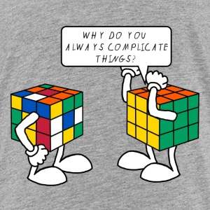Rubik's Why? - Kinder Premium T-Shirt