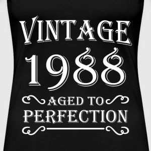 Vintage 1988 - Aged to perfection T-Shirts - Women's Premium T-Shirt