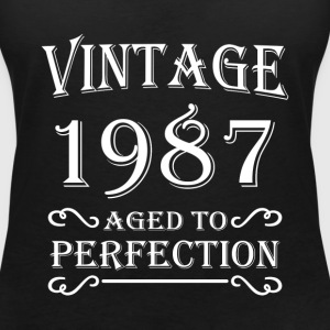 Vintage 1987 - Aged to perfection Tee shirts - T-shirt col V Femme