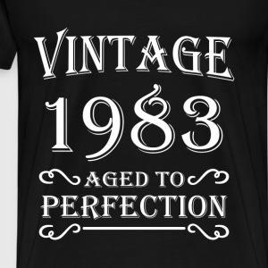 Vintage 1983 - Aged to perfection T-shirts - Herre premium T-shirt