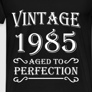 Vintage 1985 - Aged to perfection T-shirts - Herre premium T-shirt
