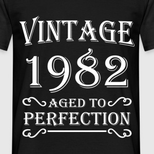 Vintage 1982 - Aged to perfection Camisetas - Camiseta hombre
