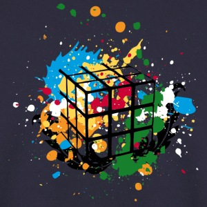 Rubik's Splatter Cube - Men's Sweatshirt