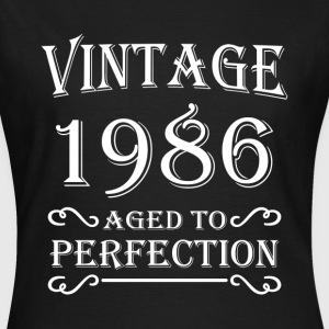 Vintage 1986 - Aged to perfection T-shirts - T-shirt dam