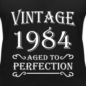 Vintage 1984 - Aged to perfection T-shirts - Vrouwen T-shirt met V-hals