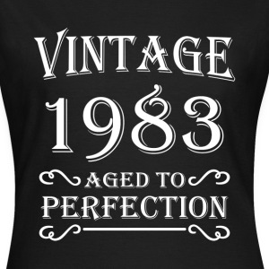 Vintage 1983 - Aged to perfection T-shirts - T-shirt dam