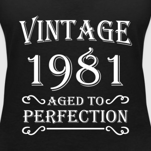 Vintage 1981 - Aged to perfection T-Shirts - Women's V-Neck T-Shirt