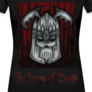 The Army of Death - Dame premium T-shirt
