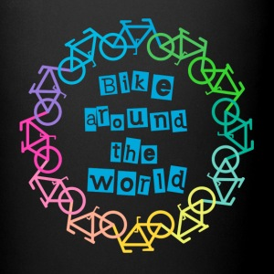 Bike around the world Tassen & Zubehör - Tasse einfarbig