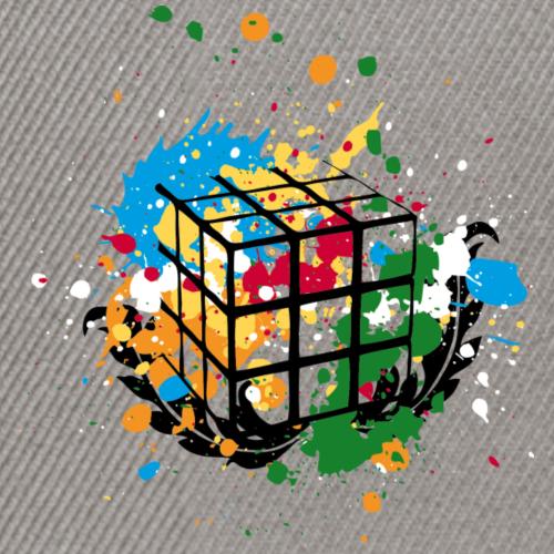 Rubiks - Splatter Cube